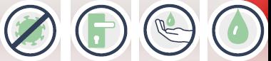 Handgel zur Desinfektion der Hände