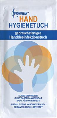 Handhygienetuch zur Desinfektion der Hände